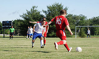 Soccer event