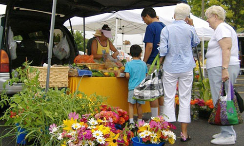 City farmers market